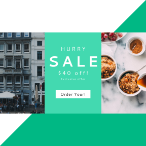 Image design template for sales - #banner #businnes #sales #CallToAction #salesbanner #apple #house #food #cinnamon #european #cup #granola #restaurant #hand