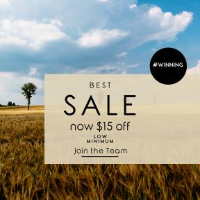 Image design template for sales - #banner #businnes #sales #CallToAction #salesbanner #agriculture #sky #grassland #plain #ecosystem #grass #farm #crop