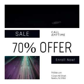 Image design template for sales - #banner #businnes #sales #CallToAction #salesbanner #trail #exposure #car #winter #road #finance #roadtrip #red #lapland #snowy