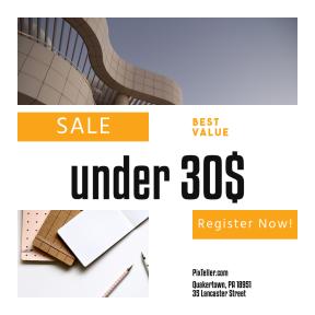 Image design template for sales - #banner #businnes #sales #CallToAction #salesbanner #exterior #pen #tiled #book #create #space
