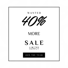 Image design template for sales - #banner #businnes #sales #CallToAction #salesbanner #font #arts #monochrome #text #black #white