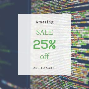 Image design template for sales - #banner #businnes #sales #CallToAction #salesbanner #source #code #information #software #technology #programming #programmer #byte