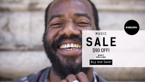 FullHD image template for sales - #banner #businnes #sales #CallToAction #salesbanner #bokeh #dentist #male #concrete #american #african #closeup #stone #joy