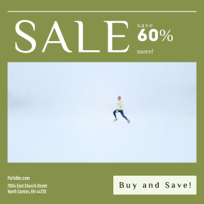 Image design template for sales - #banner #businnes #sales #CallToAction #salesbanner #sky #recreation #A #adventure #jumping #whiteout #snow #sport #running #cloud