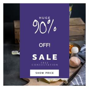Image design template for sales - #banner #businnes #sales #CallToAction #salesbanner #herbs #healthy #meal #yummy #food #eating #grub #brunch #egg #salt