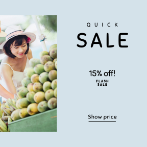 Image design template for sales - #banner #businnes #sales #CallToAction #salesbanner #shopping #woman #town #china #vacation #banana #people #fruit #market