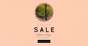 Card design template for sales - #banner #businnes #sales #CallToAction #salesbanner #yellow #shrub #grass #agriculture #landscape #field #spring #flower