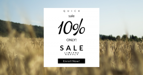 Card design template for sales - #banner #businnes #sales #CallToAction #salesbanner #field #black #wheat #sky #interface #shape #food #grain #symbol #agriculture