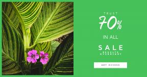 Card design template for sales - #banner #businnes #sales #CallToAction #salesbanner #magentum #colour #texture #garden #morri #arboretum #leaf #fuschium