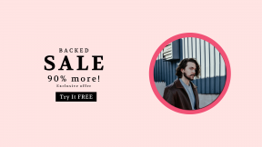 FullHD image template for sales - #banner #businnes #sales #CallToAction #salesbanner #architecture #corrugated #millennial #man #cool #leather