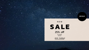 FullHD image template for sales - #banner #businnes #sales #CallToAction #salesbanner #starry #galaxy #space #astronomy #dark #universe #orbital