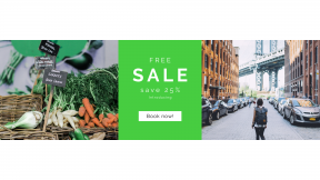 FullHD image template for sales - #banner #businnes #sales #CallToAction #salesbanner #urban #fresh #label #green #ripemarket #basket