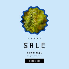 Image design template for sales - #banner #businnes #sales #CallToAction #salesbanner #flowering #nature #marijuana #rain #plant #ovals #swirly #medicine #leaf #leafe