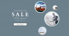 Card design template for sales - #banner #businnes #sales #CallToAction #salesbanner #minimal #skyline #computer #keyboard #architectural #woman
