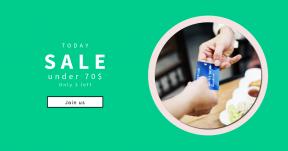 Card design template for sales - #banner #businnes #sales #CallToAction #salesbanner #cafe #card #handing #credit #westerner