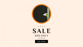FullHD image template for sales - #banner #businnes #sales #CallToAction #salesbanner #flower #music #shape #simple #plant