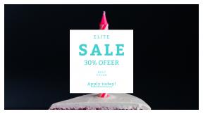 FullHD image template for sales - #banner #businnes #sales #CallToAction #salesbanner #color #eat #colour #dark #treat #celebration