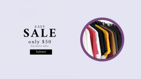 FullHD image template for sales - #banner #businnes #sales #CallToAction #salesbanner #color #hanging #clothing #hanger #tee #t-shirt