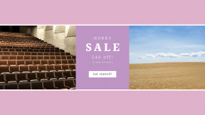FullHD image template for sales - #banner #businnes #sales #CallToAction #salesbanner #wheat #empty #audience #auditorium #layers #chairs #sky #lines #ripe #day