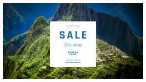 FullHD image template for sales - #banner #businnes #sales #CallToAction #salesbanner #mountain #machu #architecture #peru #huayna #inca #lost #cusco