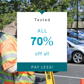 Image design template for sales - #banner #businnes #sales #CallToAction #salesbanner #person #electronic #work #carpark #device #engineering #surveyor #safety