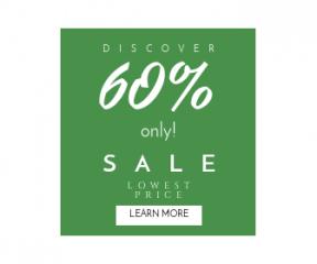 Square large web banner template for sales - #banner #businnes #sales #CallToAction #salesbanner #asphalt #white #grass #photography #monochrome #texture