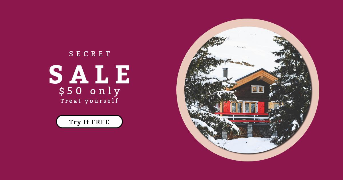Log, House, Home, Geometrical, Property, Black, Circle, Essentials, Snow, Winter, Shape, Cabin, Hut,  Free Image