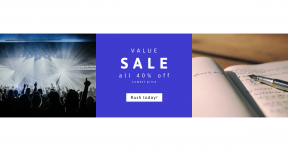 Card design template for sales - #banner #businnes #sales #CallToAction #salesbanner #singing #journaling #performing #hands #service #book #leading