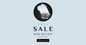 Card design template for sales - #banner #businnes #sales #CallToAction #salesbanner #outdoors #symbol #essentials #cavern #rock #looking #black #shapes #lighthouse #light