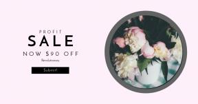 Card design template for sales - #banner #businnes #sales #CallToAction #salesbanner #arrangement #flower #floral #table #shape #flora #blossom #bloom #plant #leafe
