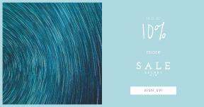 Card design template for sales - #banner #businnes #sales #CallToAction #salesbanner #night #trail #lapse #star #derek