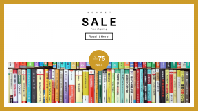 FullHD image template for sales - #banner #businnes #sales #CallToAction #salesbanner #book #colour #row #japanese #library #teacher