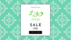 FullHD image template for sales - #banner #businnes #sales #CallToAction #salesbanner #wallpaper #design #floral #pattern #line #green #flower