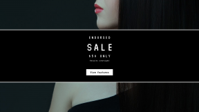 FullHD image template for sales - #banner #businnes #sales #CallToAction #salesbanner #hair #hairstyle #model #black #fashion #long #color #chin