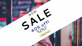 FullHD image template for sales - #banner #businnes #sales #CallToAction #salesbanner #store #sign #glasses #woman #model #chica #shopping #outdoors #belleza