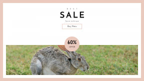 FullHD image template for sales - #banner #businnes #sales #CallToAction #salesbanner #leg #rabbit #bokeh #run #hare #skinny #chemistry #outdoor #ear