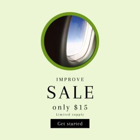 Image design template for sales - #banner #businnes #sales #CallToAction #salesbanner #adventure #travel #interface #circles #symbols #circle