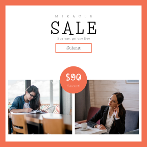 Image design template for sales - #banner #businnes #sales #CallToAction #salesbanner #couch #working #seat #table #woman #glass #sitting #suit #wooden
