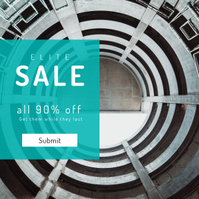 Image design template for sales - #banner #businnes #sales #CallToAction #salesbanner #geometrical #architecture #building #woman #circle #urban #structure #pattern