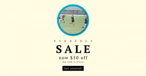 Card design template for sales - #banner #businnes #sales #CallToAction #salesbanner #run #of #soccer #woman #circles #pacific #ball #the #black