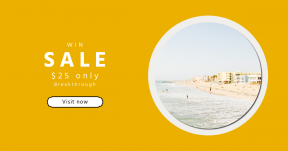 Card design template for sales - #banner #businnes #sales #CallToAction #salesbanner #sandy #shore #shapes #swim #water #background #rectangles #backgrouns #sand #label