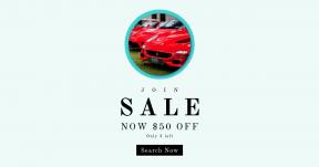 Card design template for sales - #banner #businnes #sales #CallToAction #salesbanner #expensive #light #car #red #ferrari #travel #bokeh #line