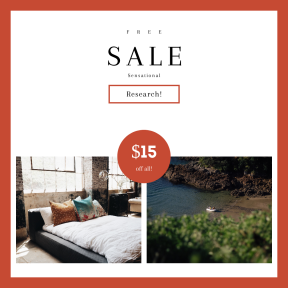Image design template for sales - #banner #businnes #sales #CallToAction #salesbanner #ripple #bedroom #interior #from #View #decor #life #tree #water