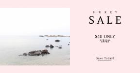 Card design template for sales - #banner #businnes #sales #CallToAction #salesbanner #sea #ocean #water #boat #sky #bank #cove #tide #rock #shore