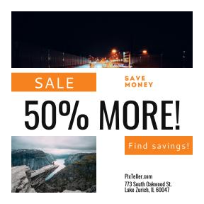 Image design template for sales - #banner #businnes #sales #CallToAction #salesbanner #light #germany #car #lakeside #munich #glacier