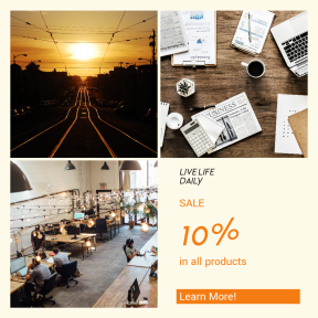 Image design template for sales - #banner #businnes #sales #CallToAction #salesbanner #person #corporate #sunrise #modern #tramway #city #travel #desk #transport