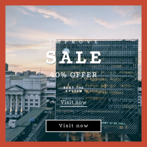 Image design template for sales - #banner #businnes #sales #CallToAction #salesbanner #sunrise #university #structure #cloudscape #school #architecture #building #college #philippines #manila