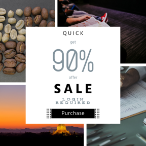 Image design template for sales - #banner #businnes #sales #CallToAction #salesbanner #cup #healthy #hot #organic #community #person #christianity #woodland