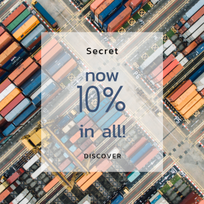 Image design template for sales - #banner #businnes #sales #CallToAction #salesbanner #shipping #red #colorful #industrial #aerial #green