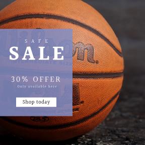 Image design template for sales - #banner #businnes #sales #CallToAction #salesbanner #tournament #macro #ball #closeup #ten #game #tenni #baseball #big #detail